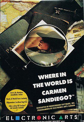 Juego Mega Drive Where in...