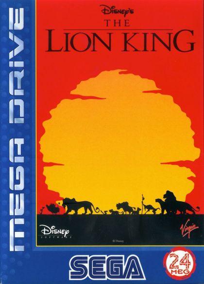 Juego Mega Drive El Rey León