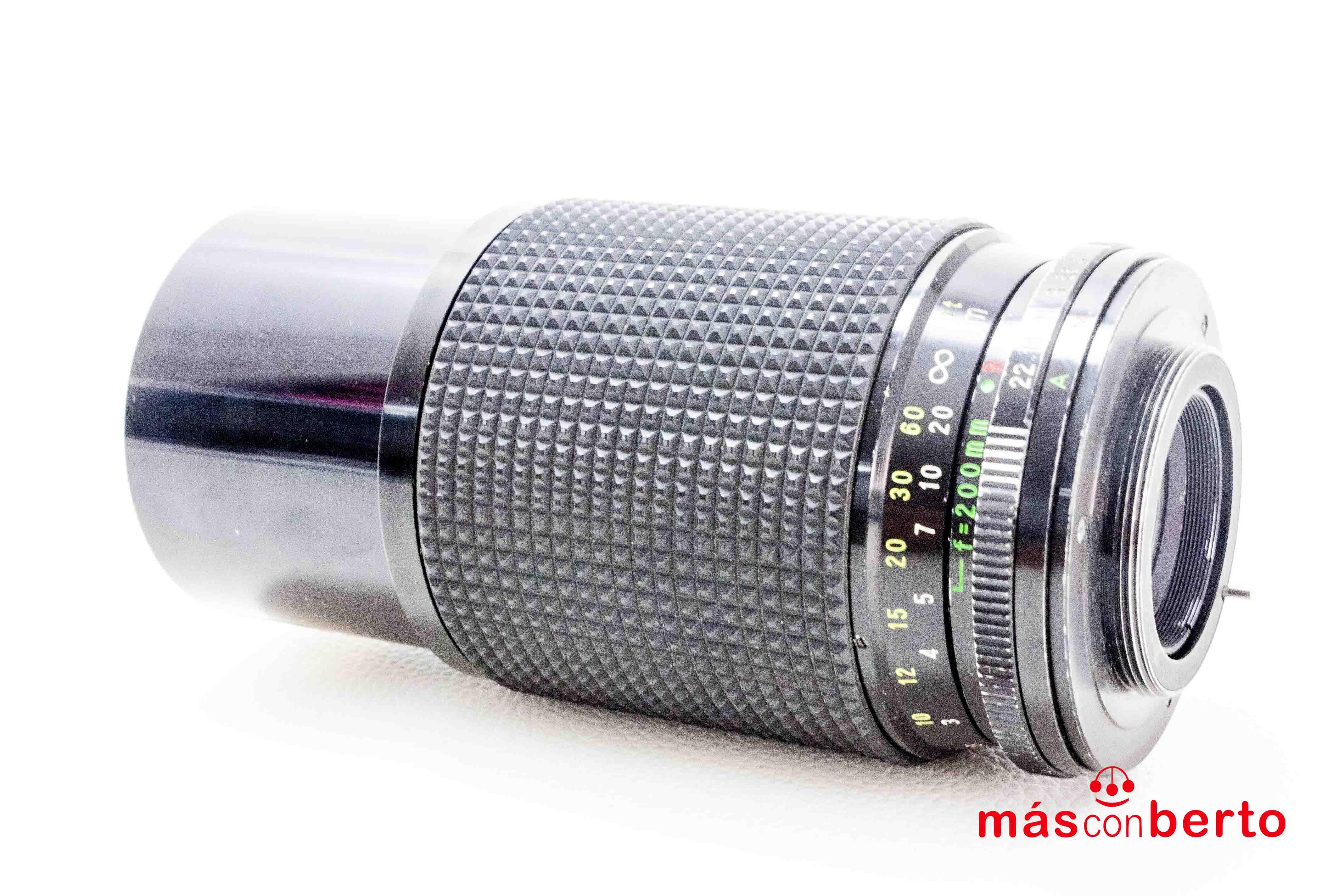 Objetivo Kepcor 80-200mm