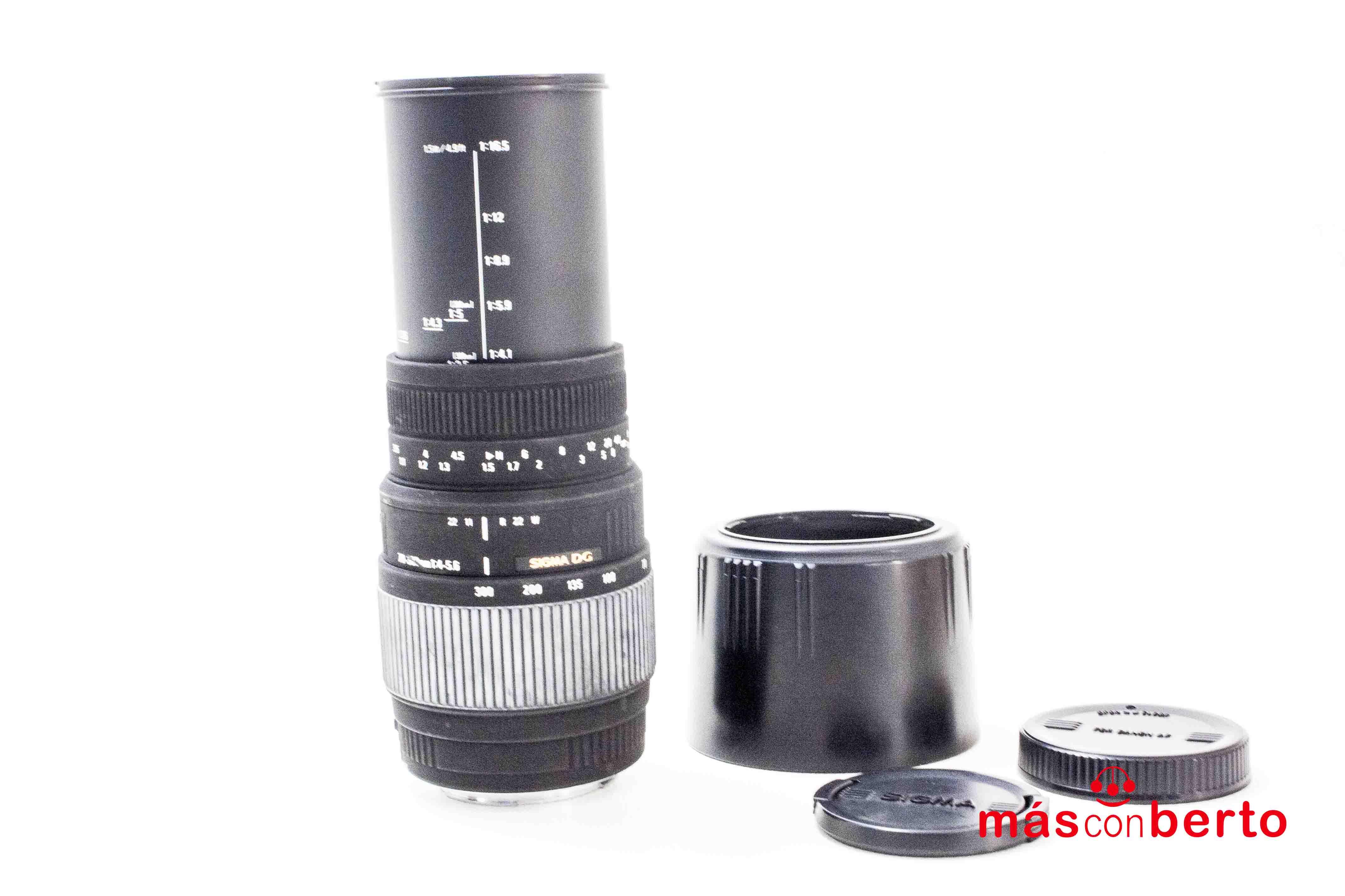 Objetivo Sigma 70-300 mm