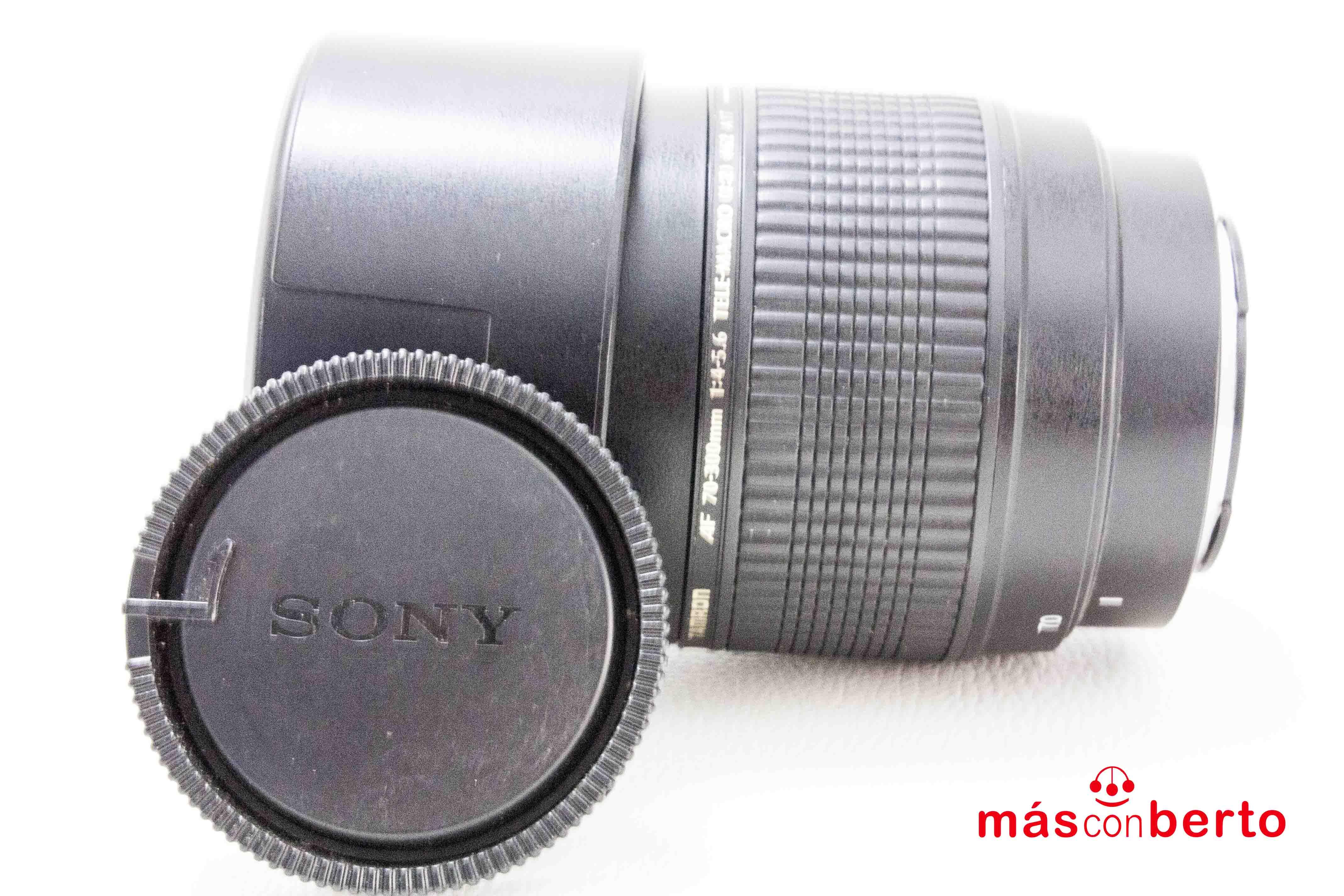 Objetivo Tamron AF 70-300mm