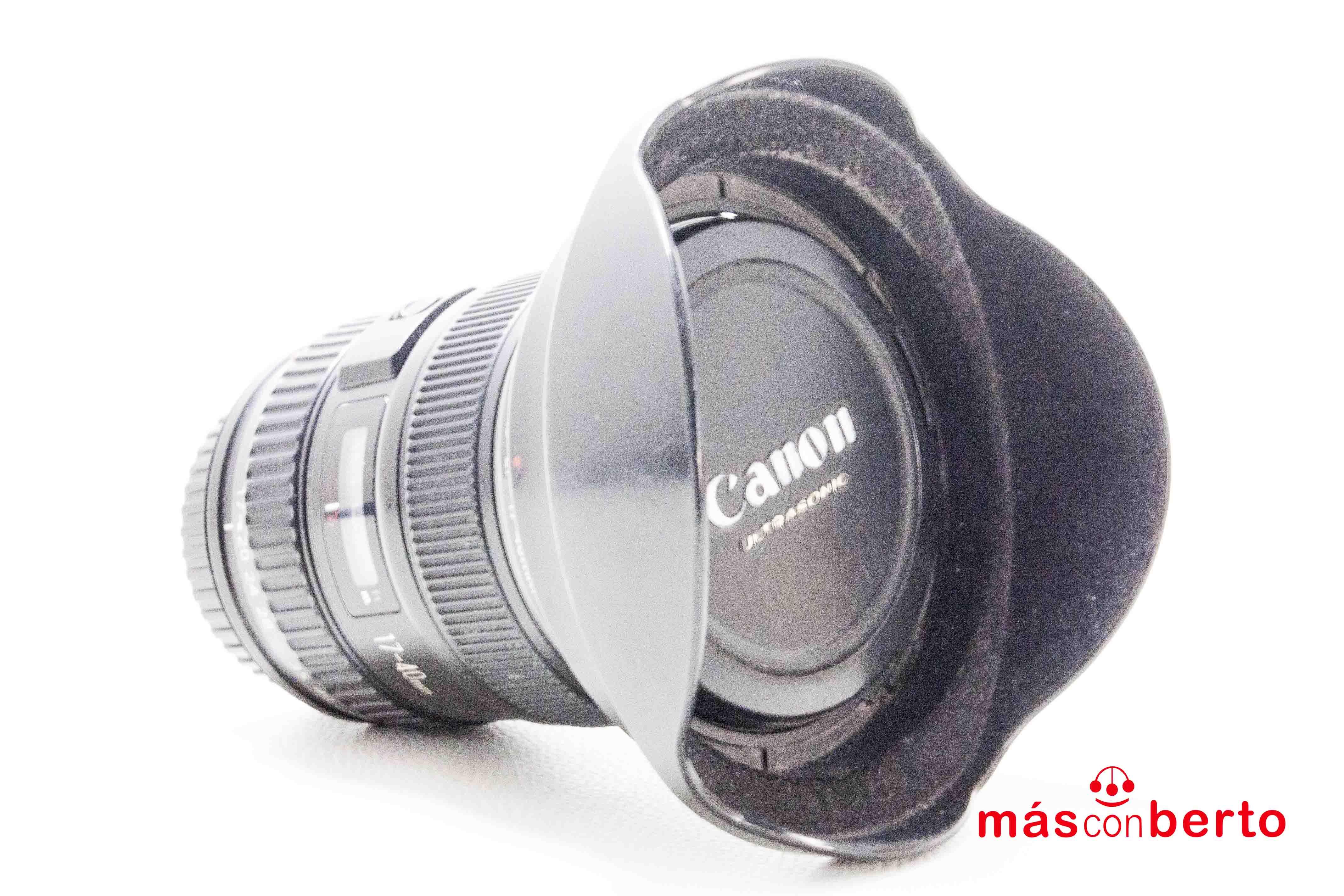 Objetivo canon 17-40mm 1.4L