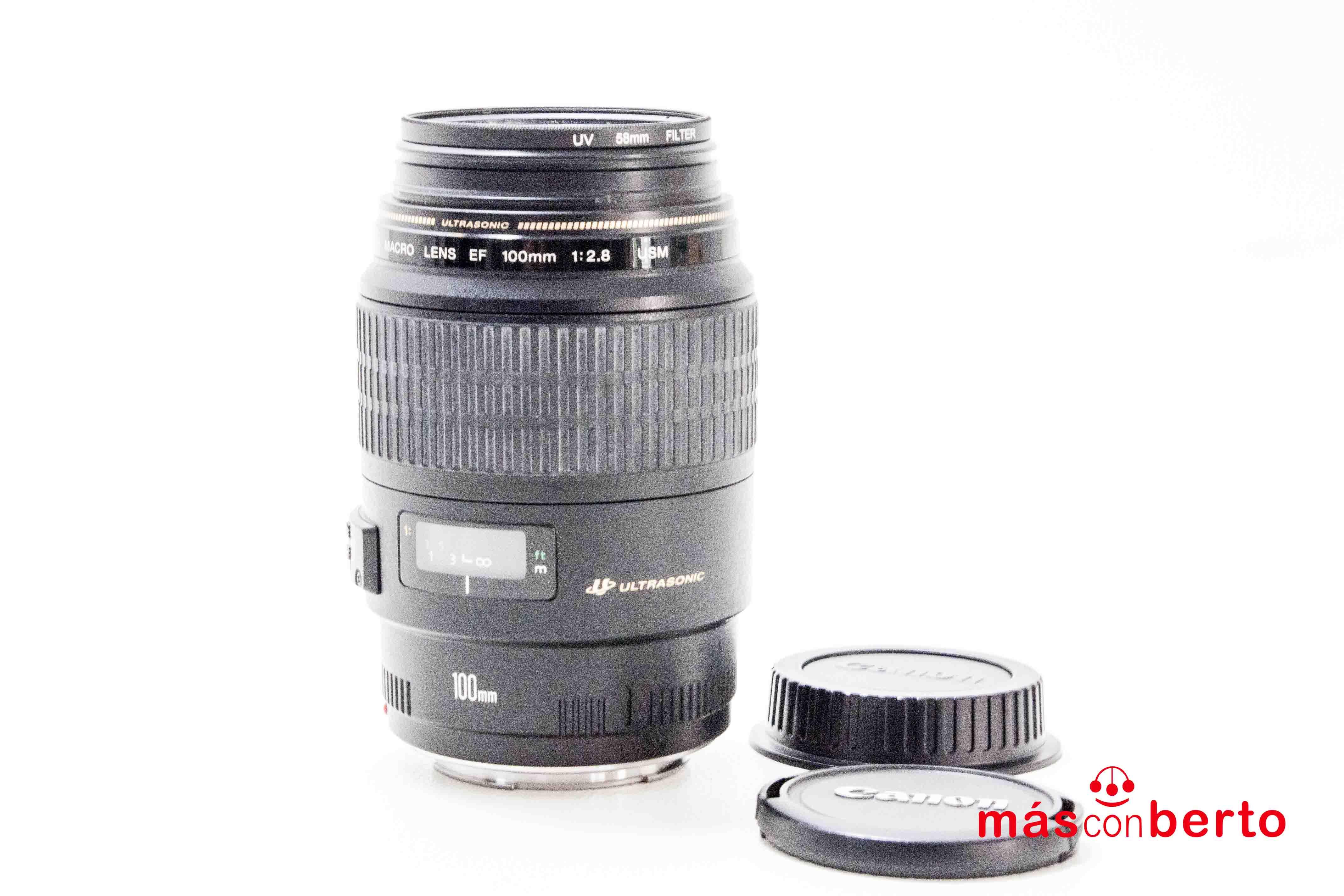 Objetivo Canon EF 100mm