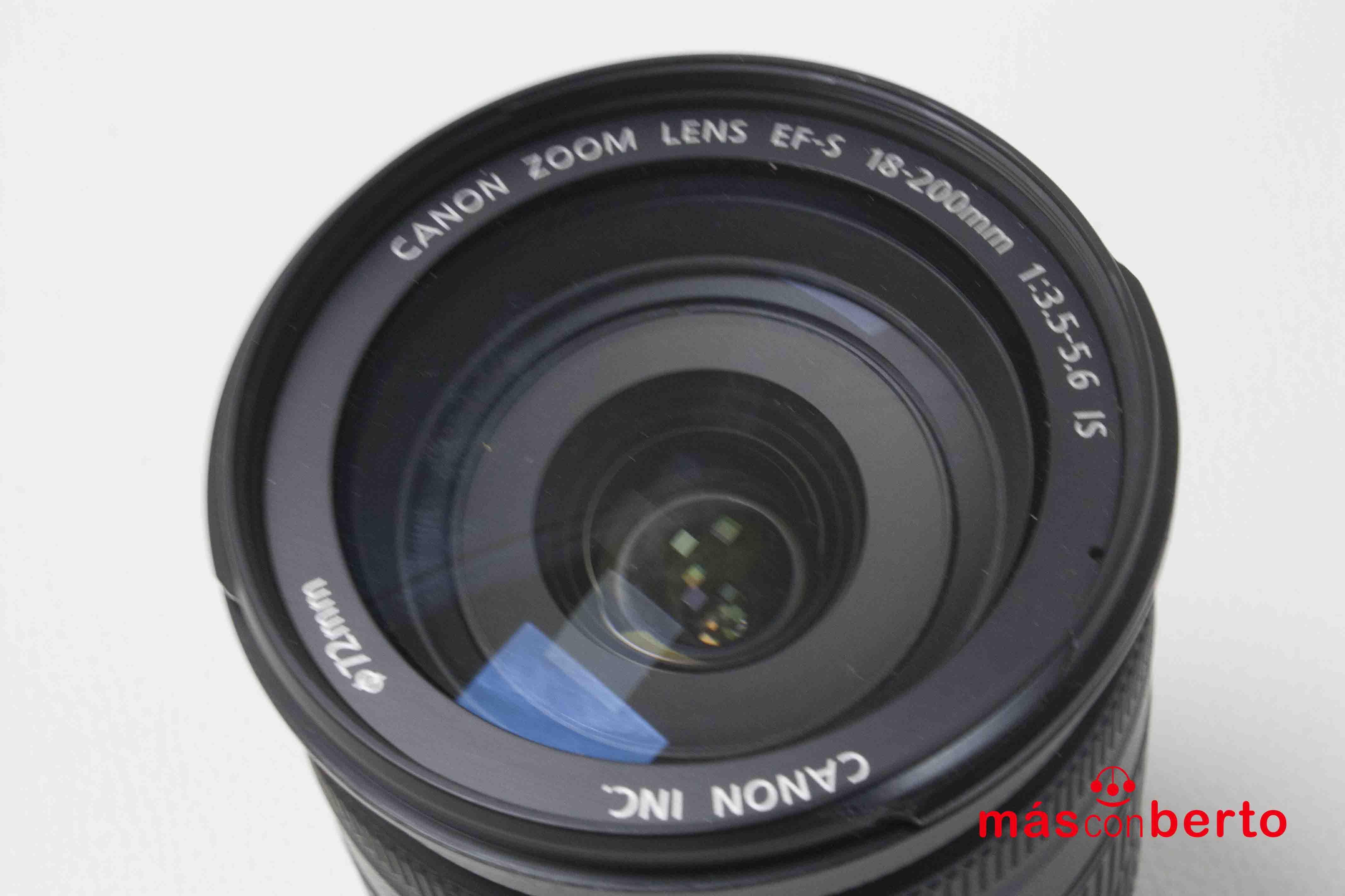 Objetivo Canon 18/200mm