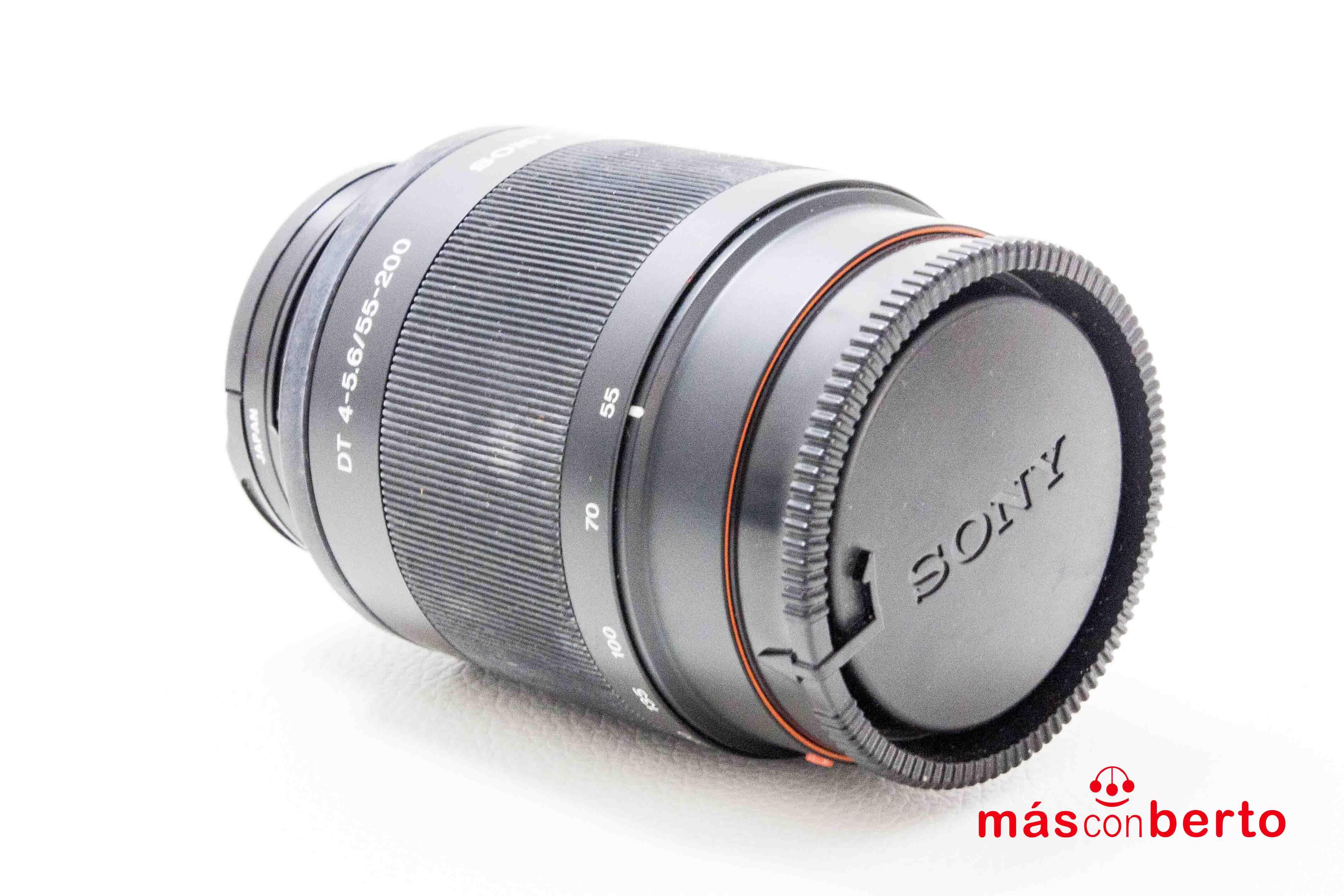 Objetivo Sony DT 55-200