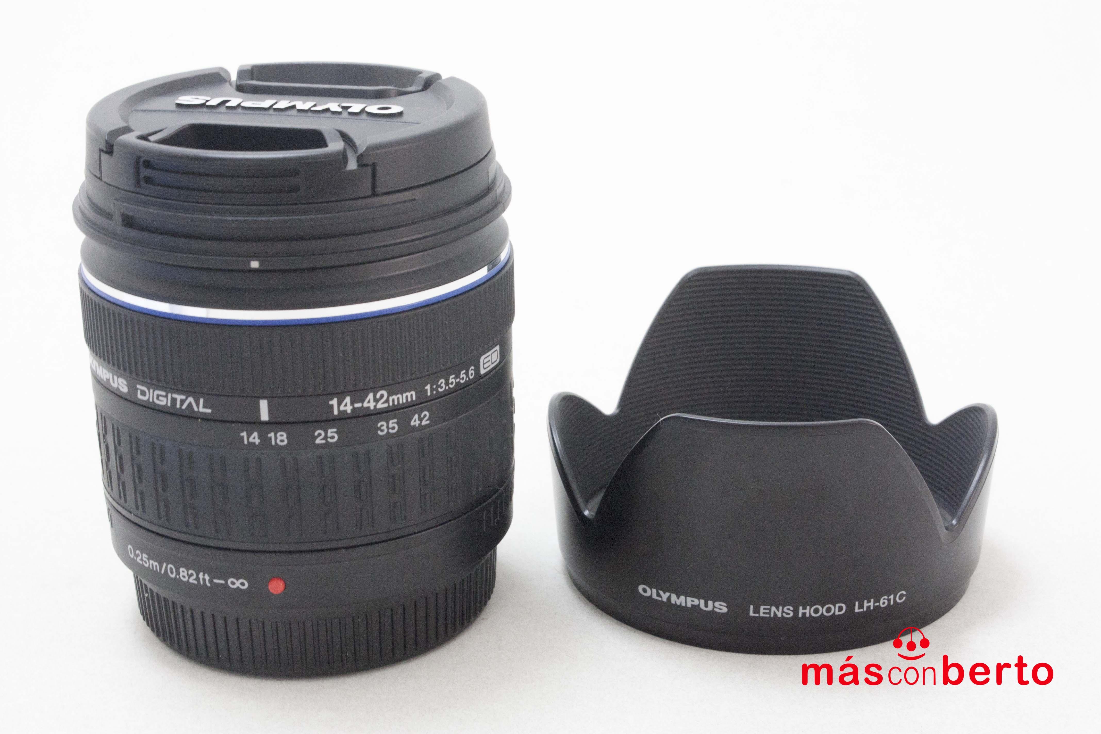 Objetivo Olympus 14-42mm