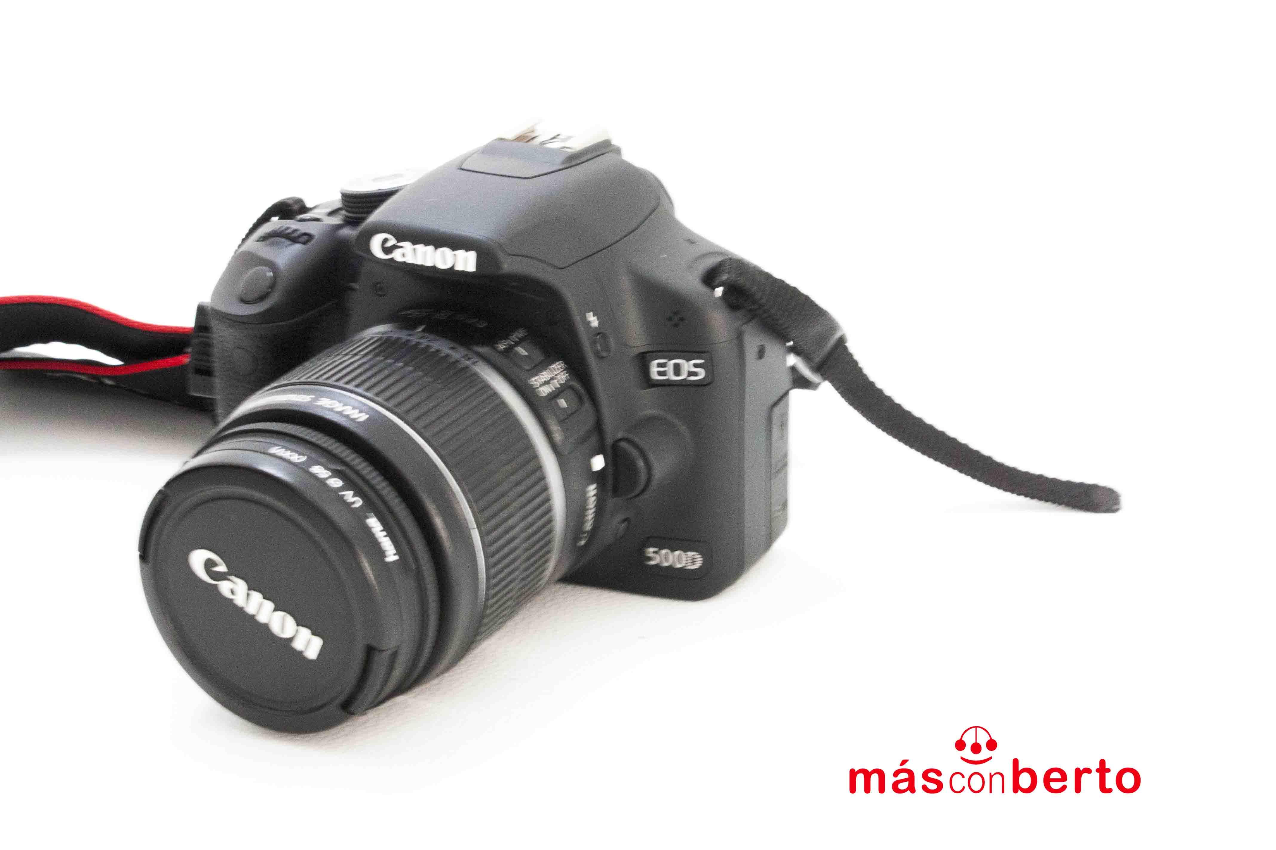 Cámara reflex Canon EOs 500D