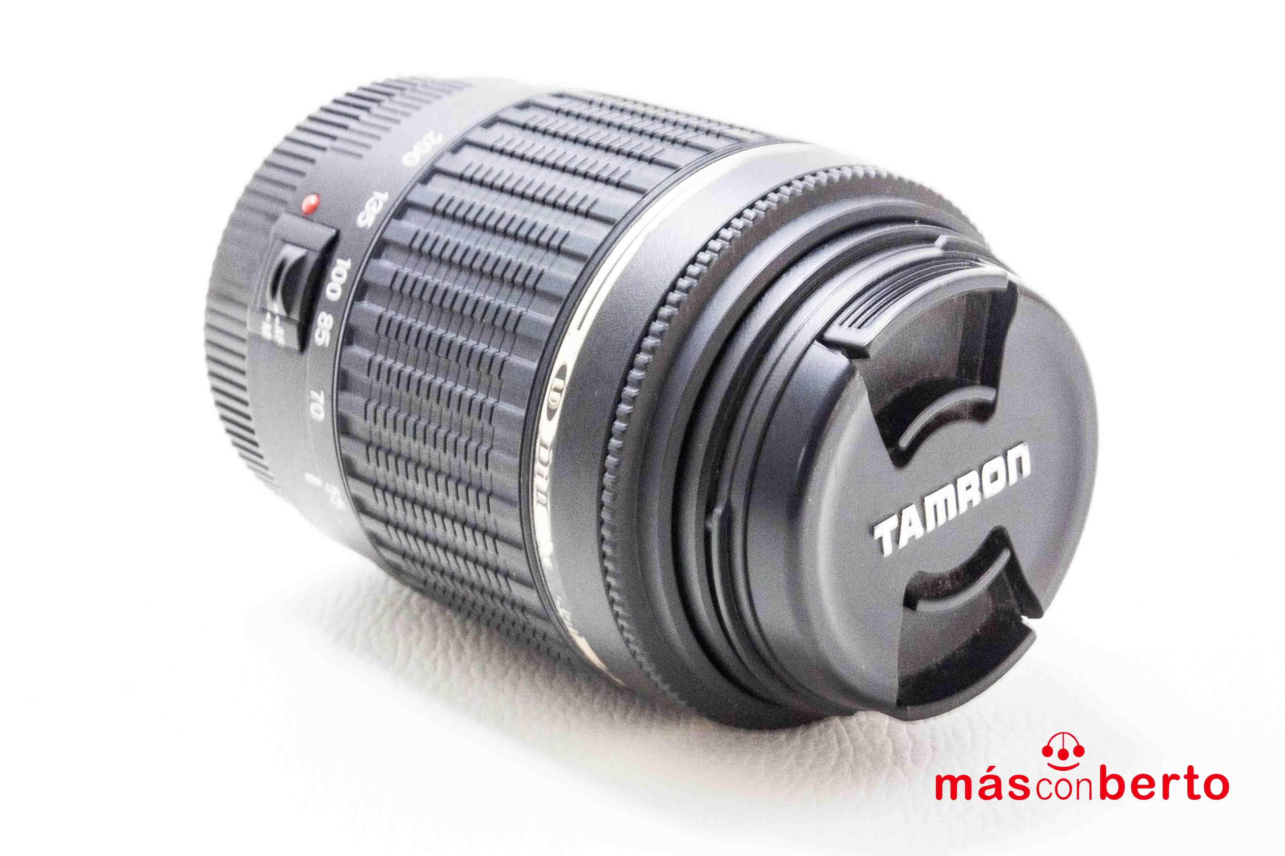 Objetivo Tamron 55-200mm