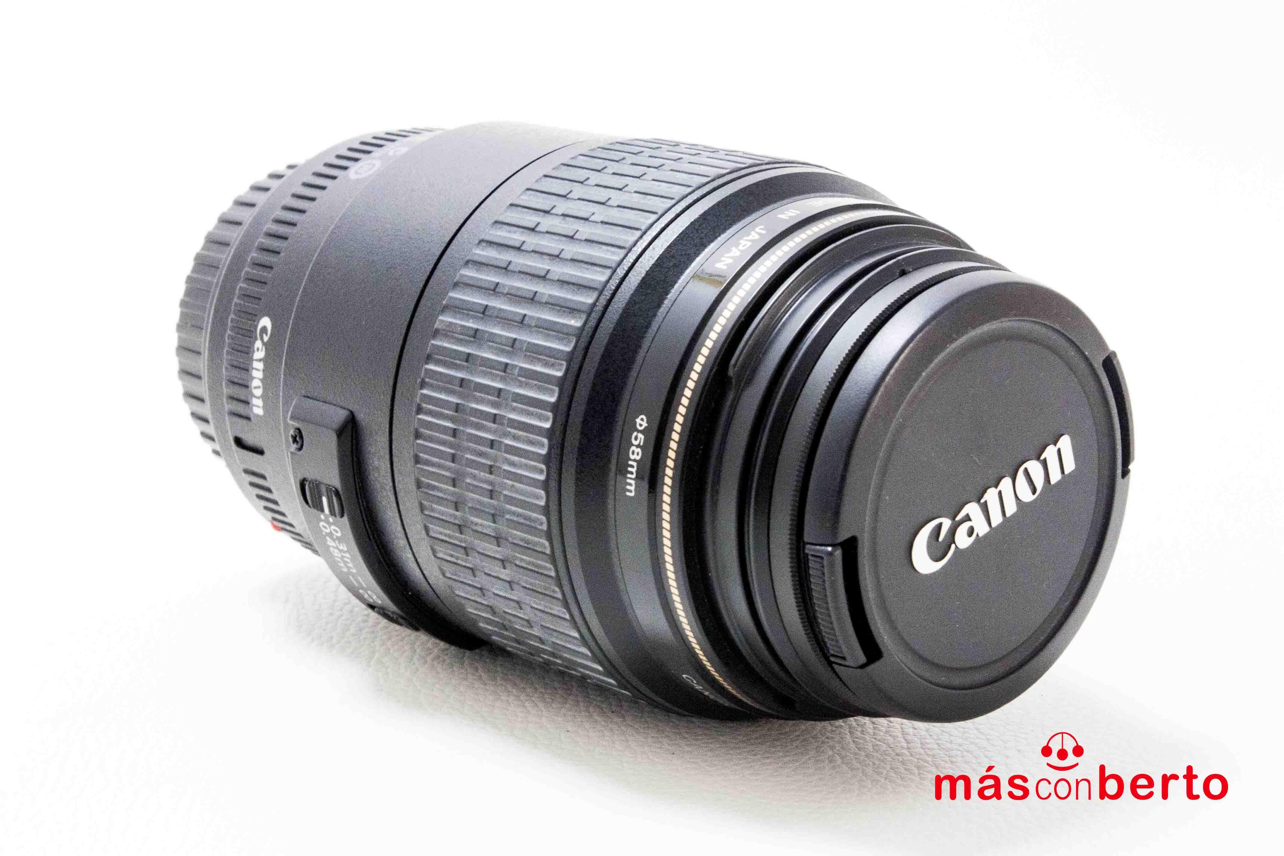 Objetivo Canon EFS18-200mm