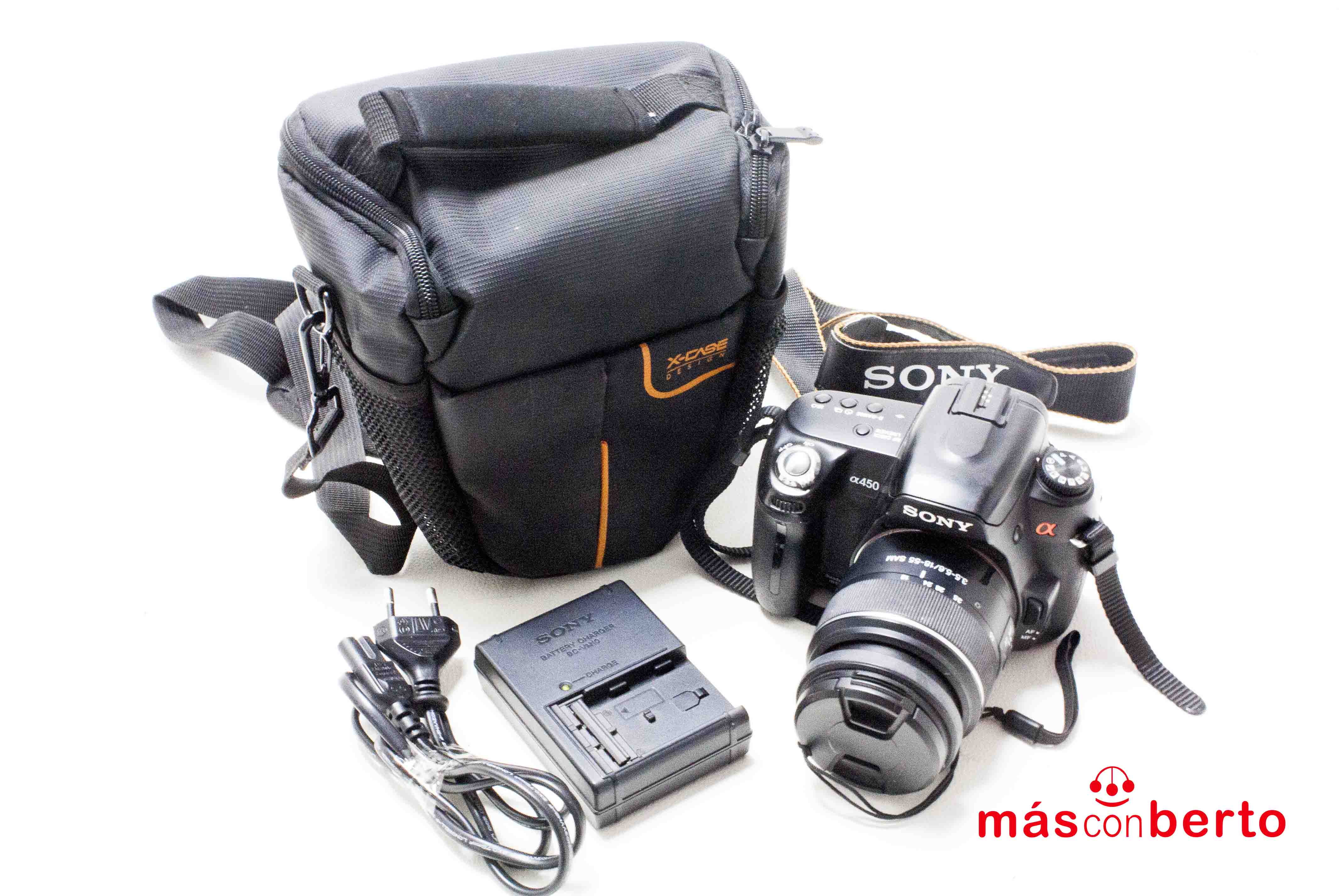 Cámara Digital Sony DSLR-A450