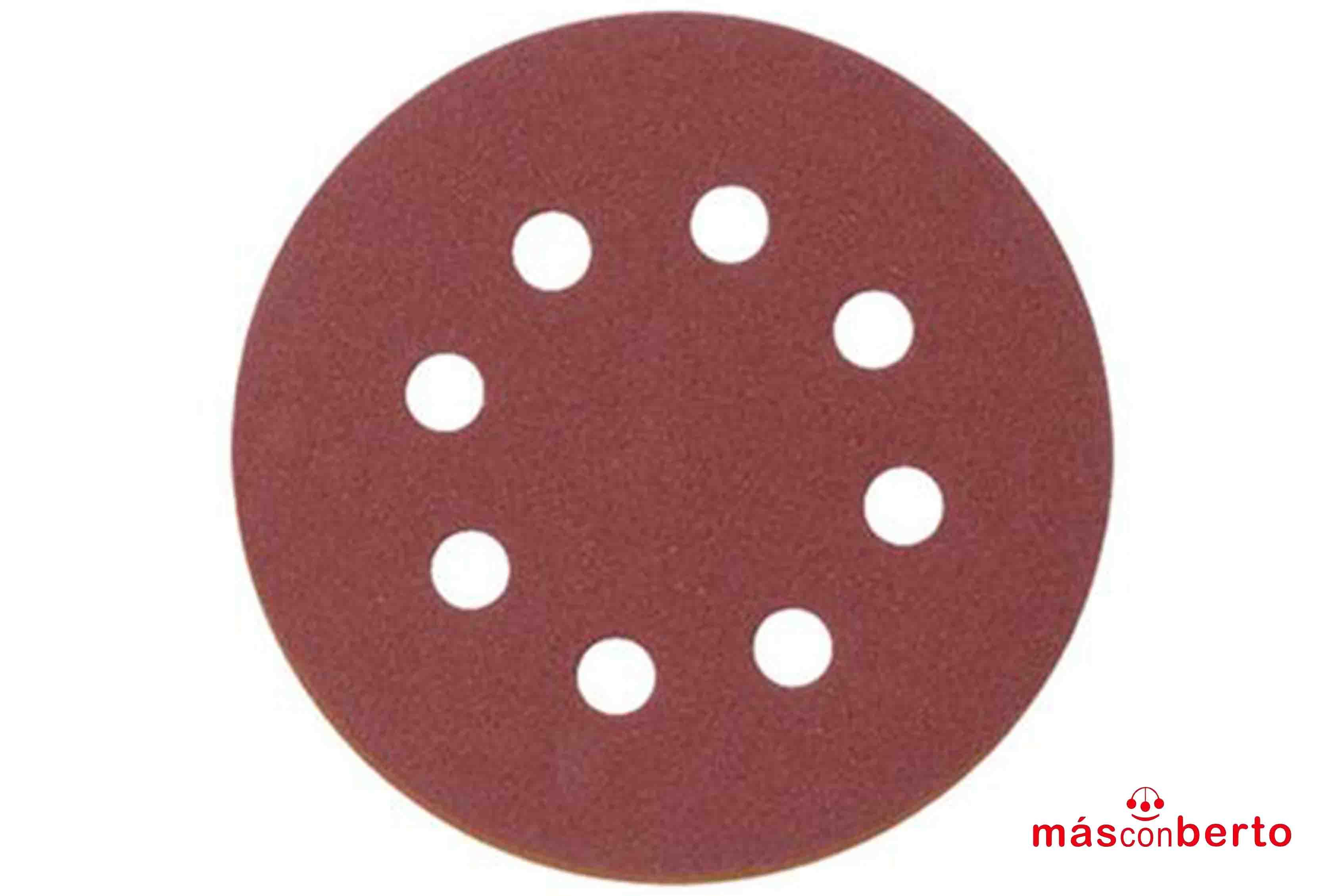 Lijas circulares 125mm 10...