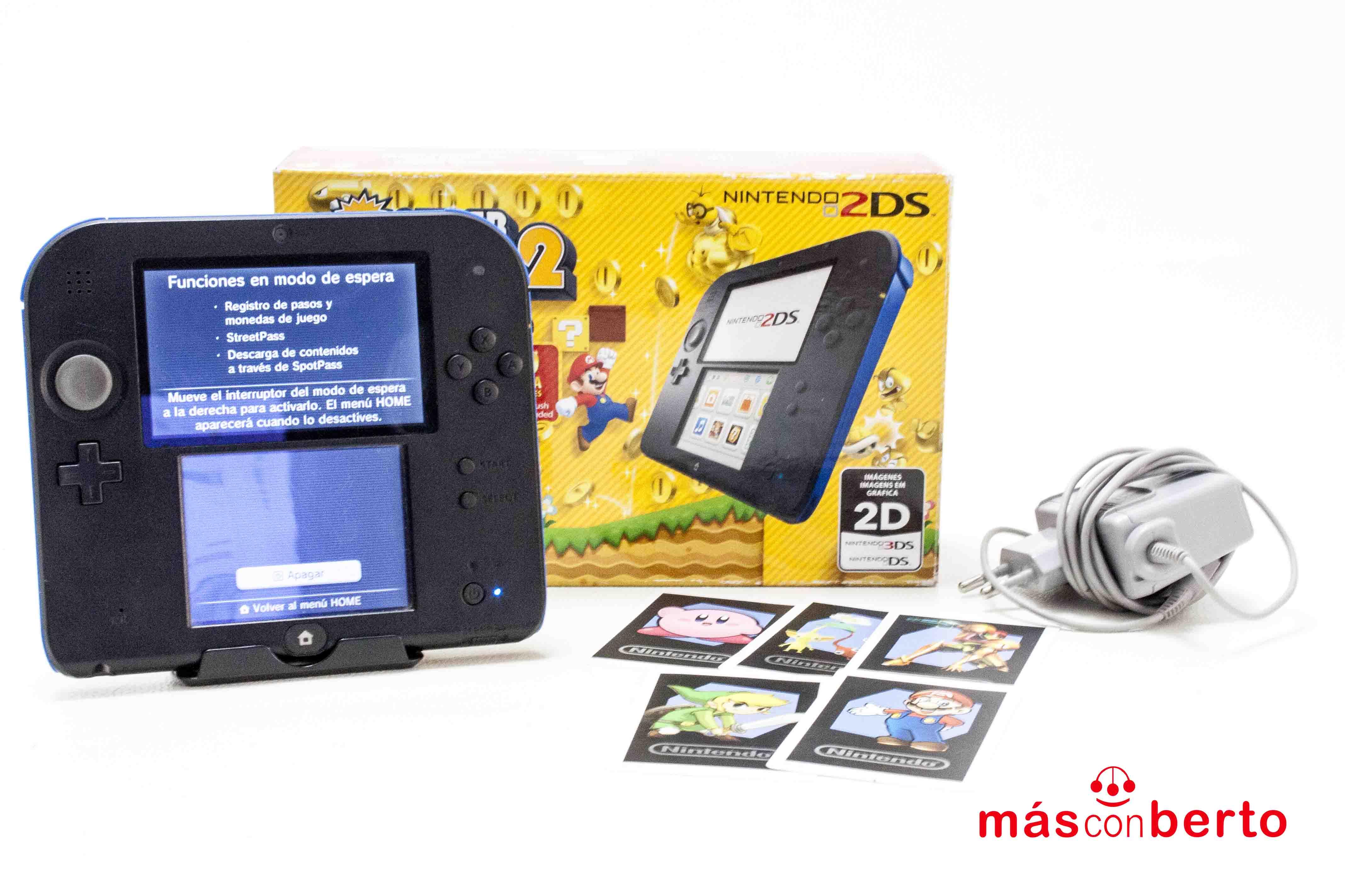 Consola Nintendo 2DS AZUL +...
