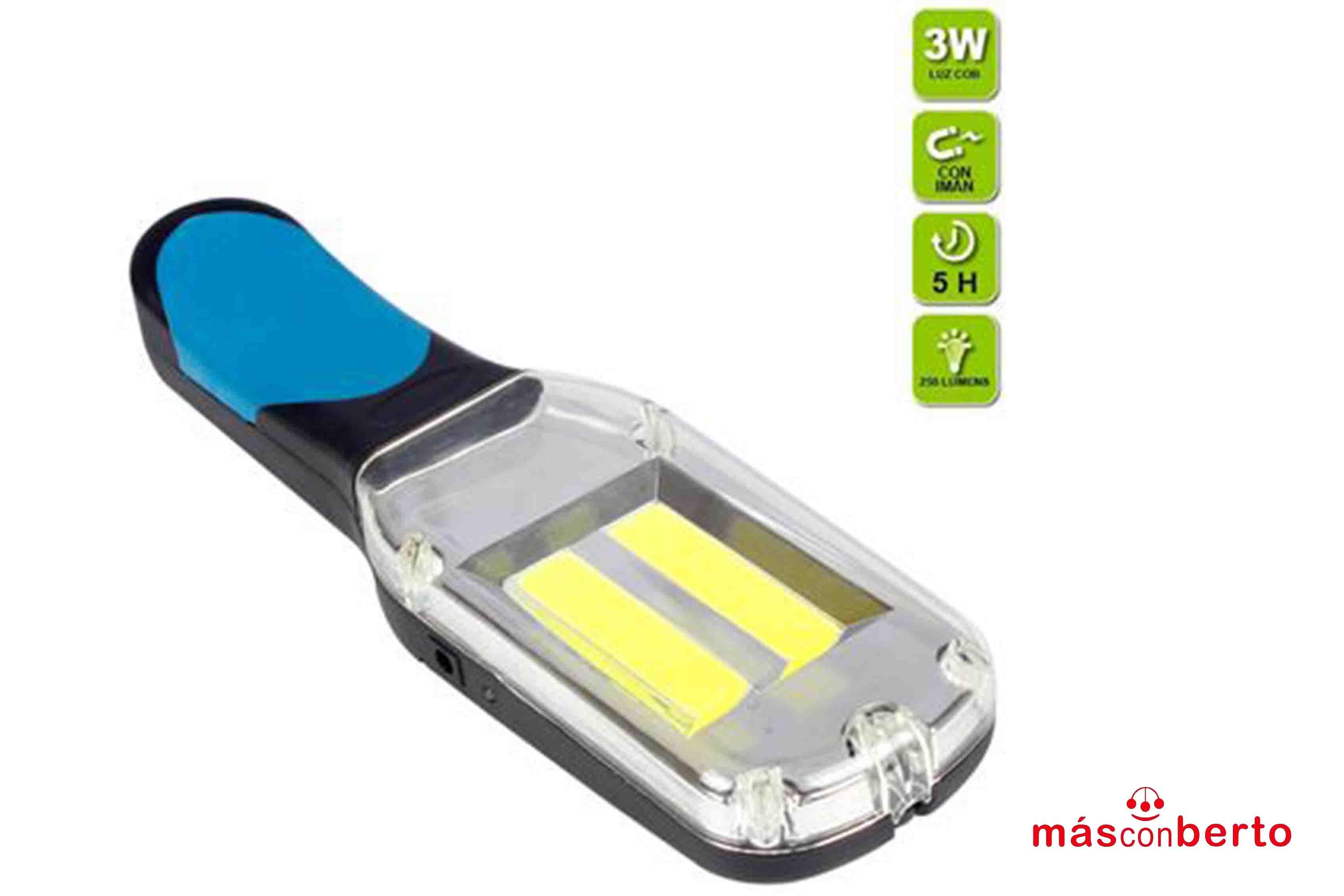 Lámpara LED Recargable 3W...
