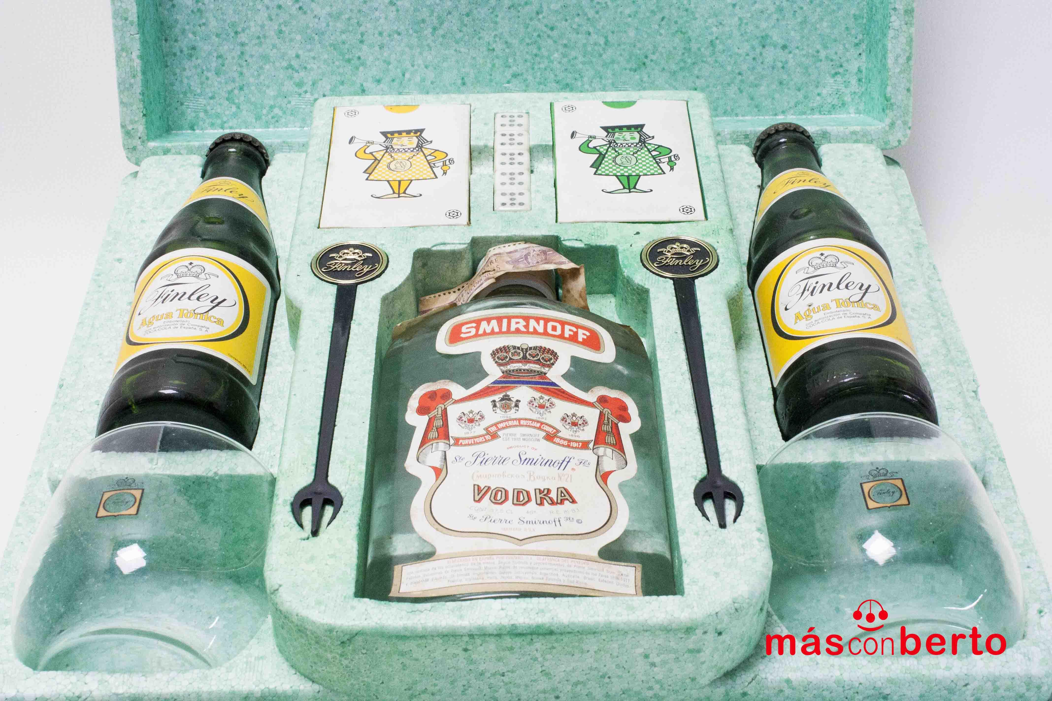 Caja de juego y bebida