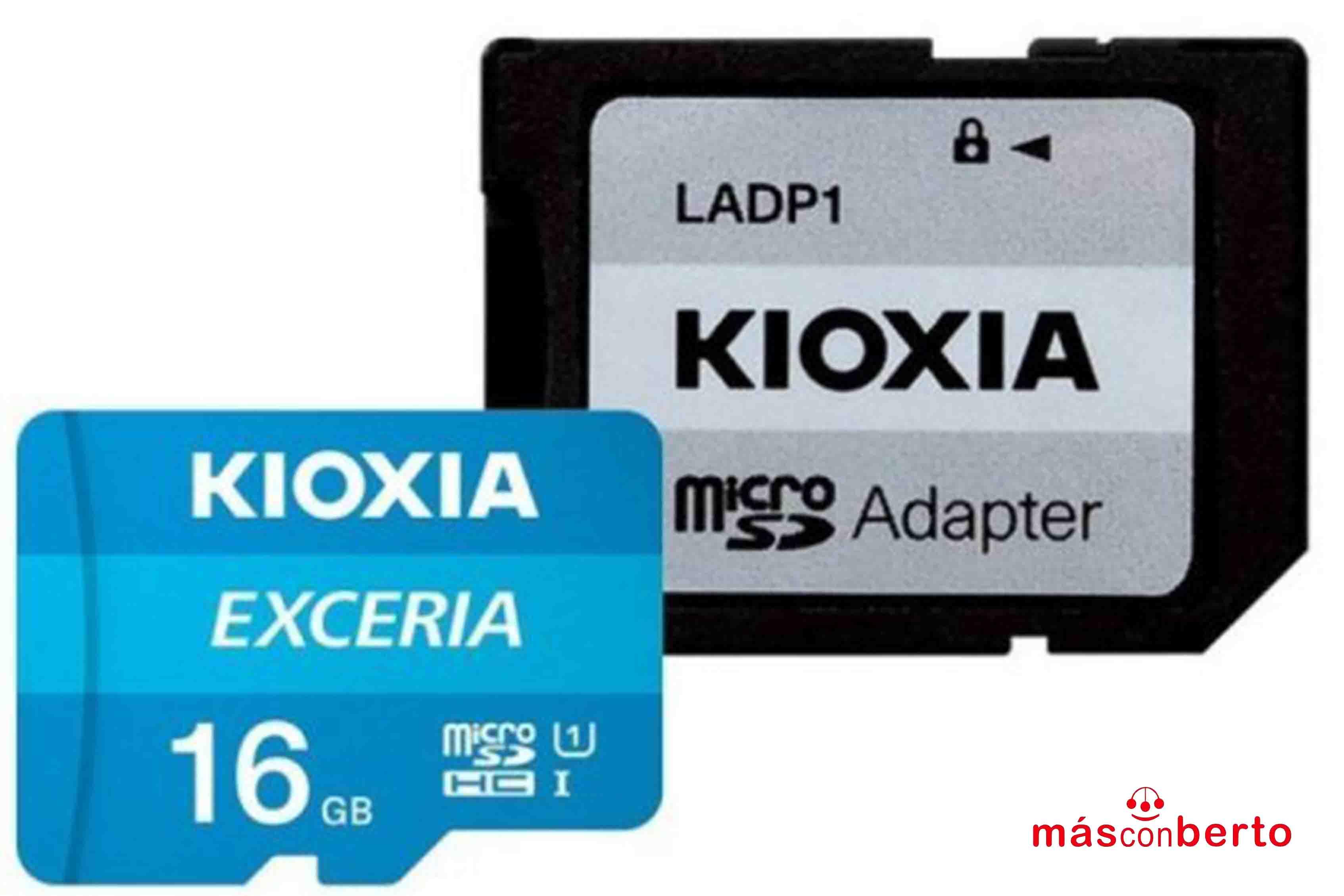 Tarjeta Micro SD 16Gb Kioxia