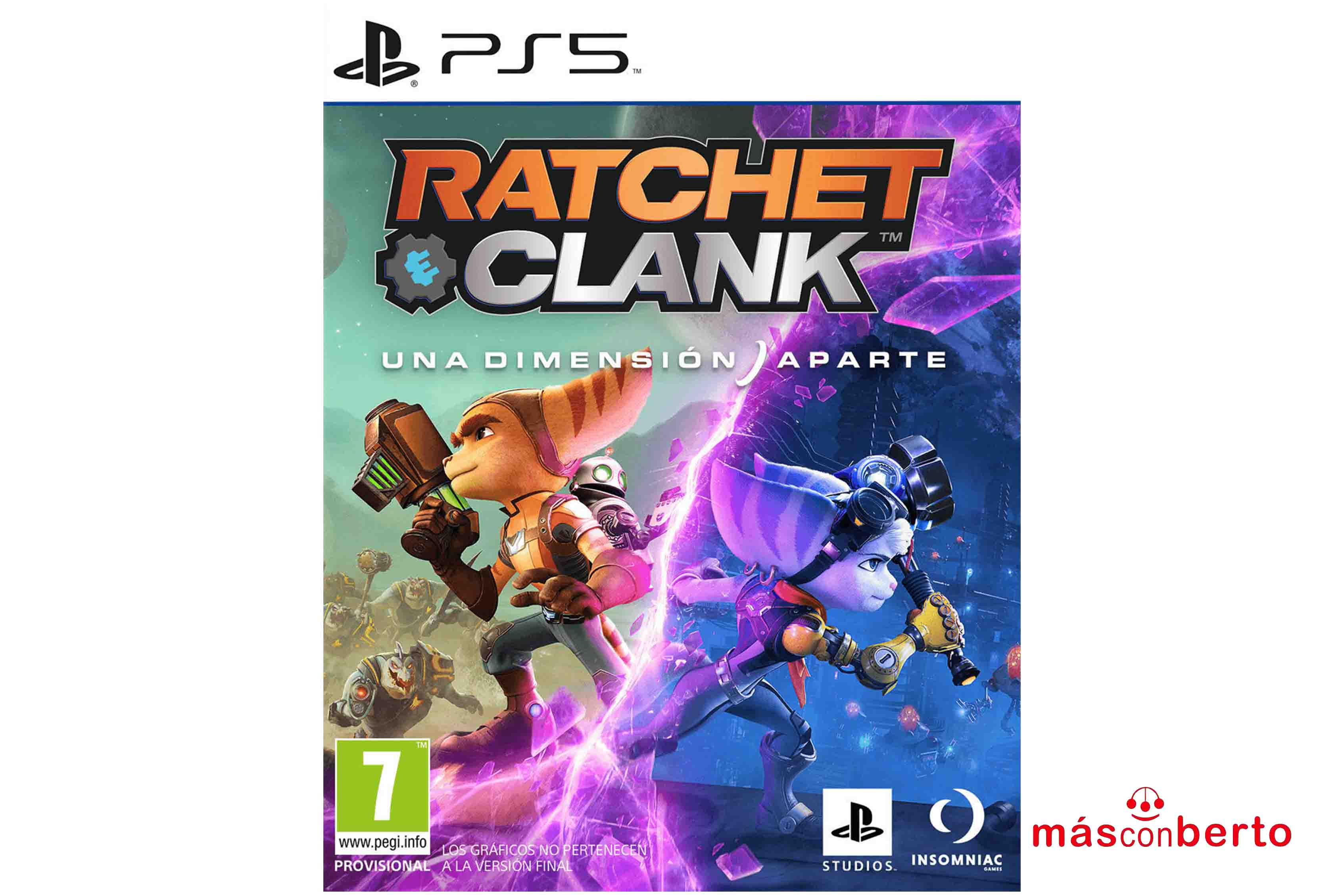 Juego Ps5 Ratchet & Clank...
