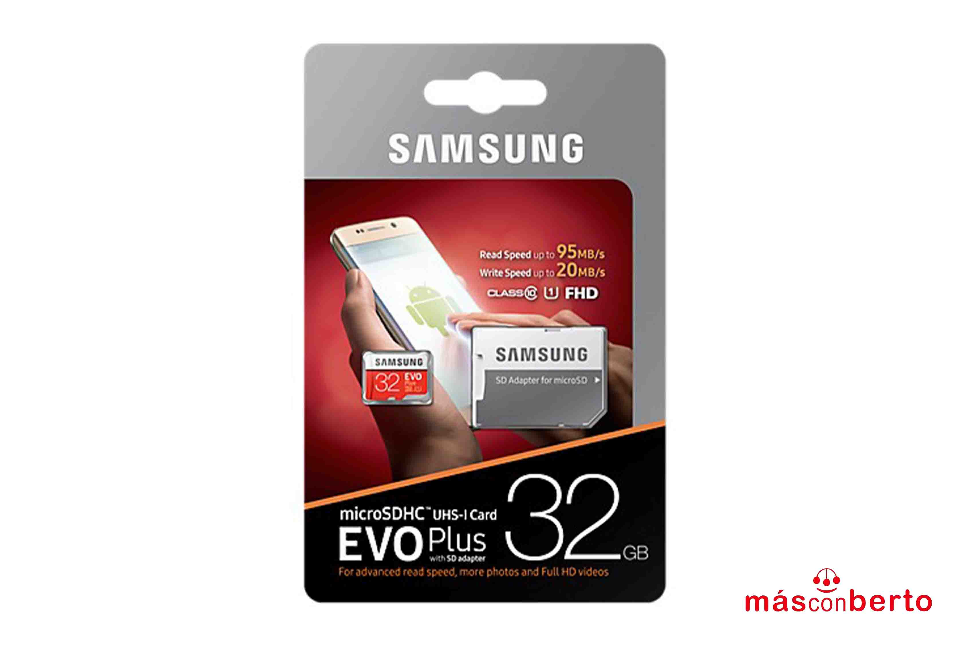 Tarjeta Micro-SD Samsung 32Gb