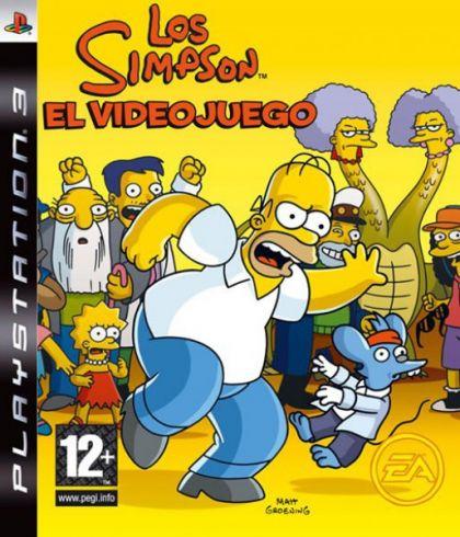 Juego PS3 Los Simpson El...