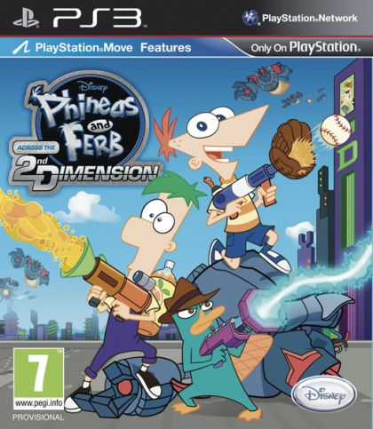 Juego PS3 Phineas y Ferb a...