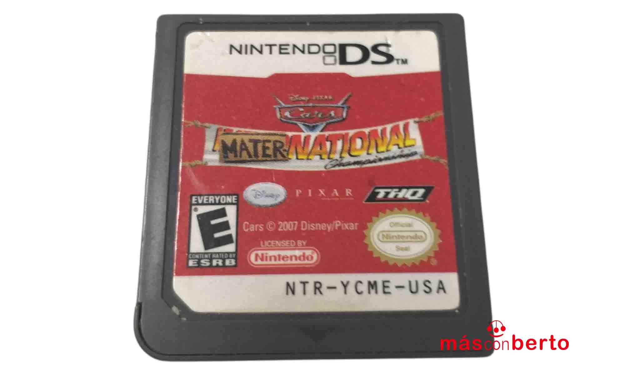 Juego Nintendo DS Cars...