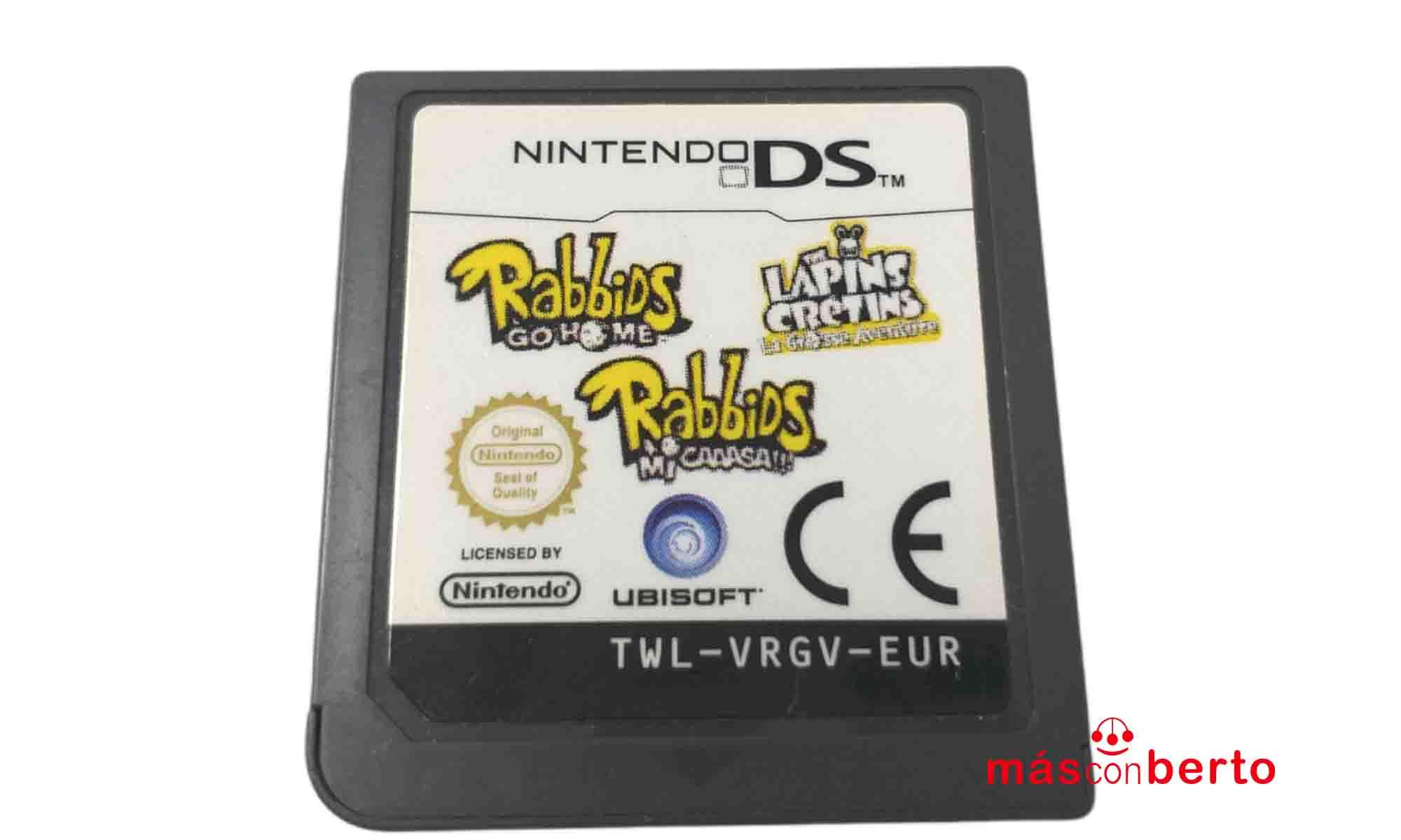 Juego Nintendo DS Rabbids...