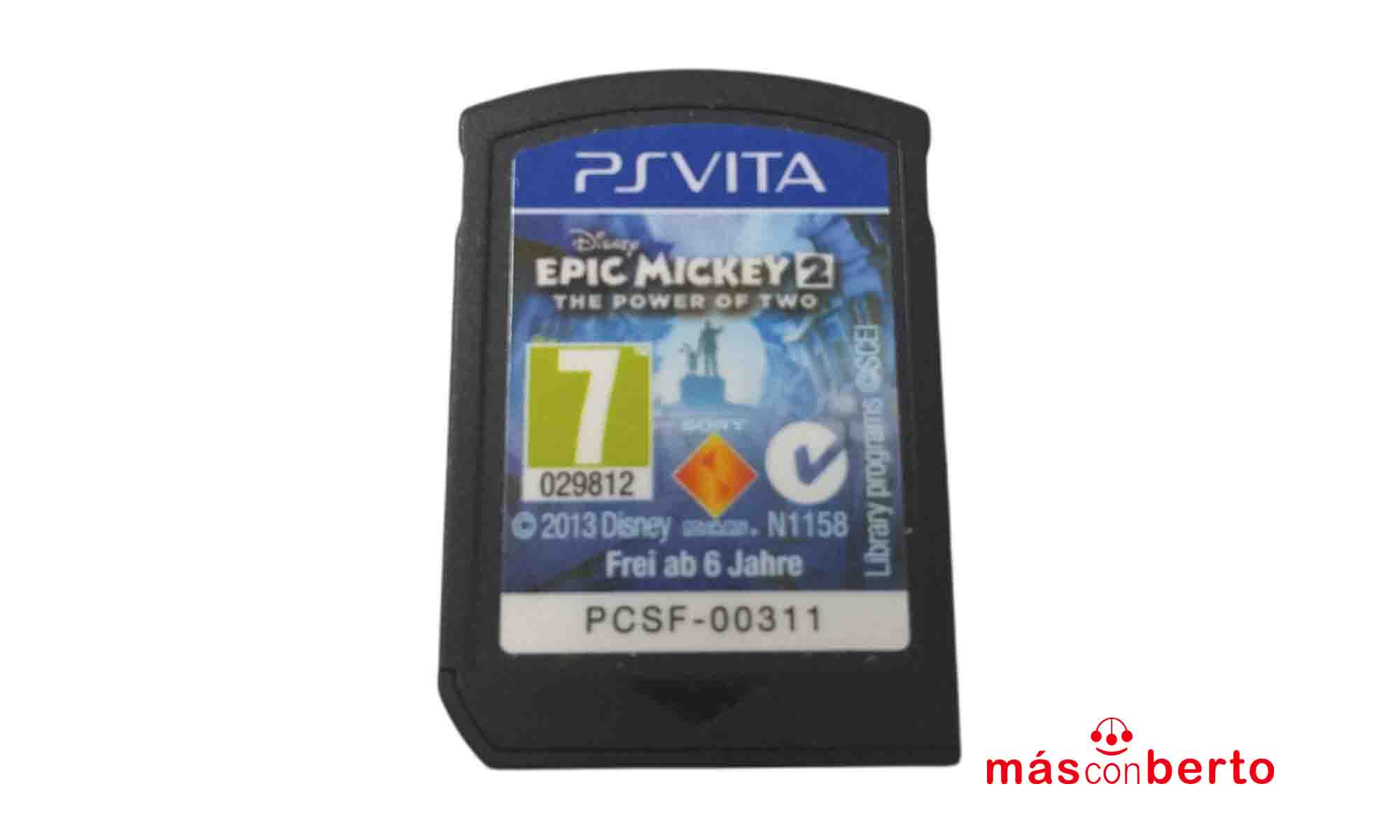Juego PS Vita Epic Mickey 2...