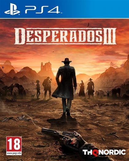 Juego PS4 Desperados III
