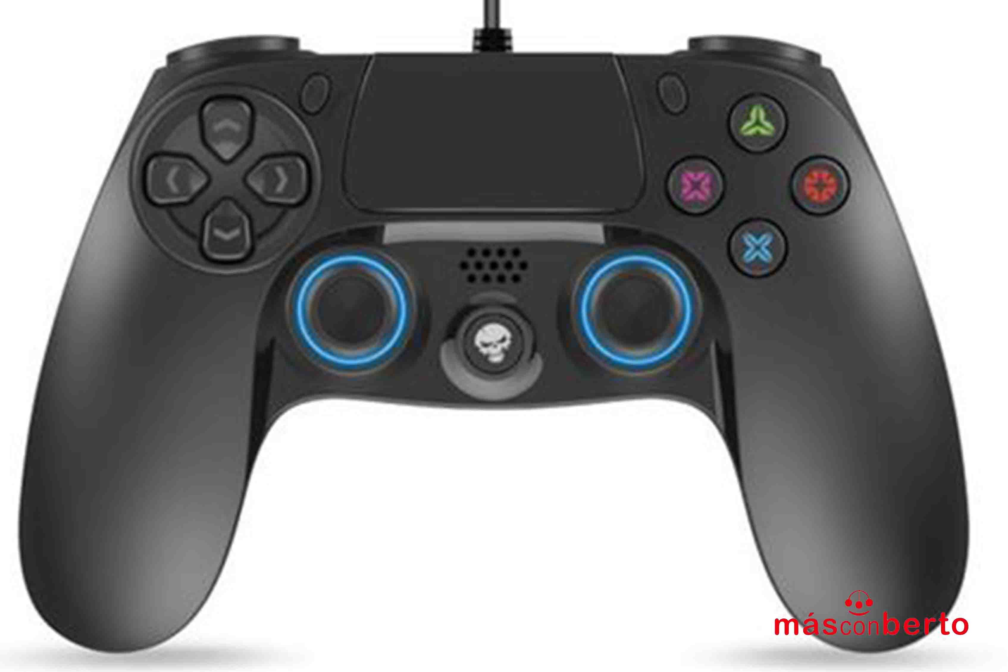 Mando con cable PS4 Pro 16...