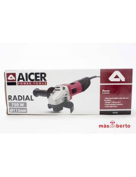 Radial Aicer 750w 115mm