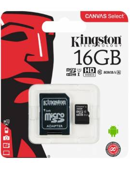 Tarjeta Micro SD Kingston...