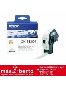 Etiquetas brother DK11204
