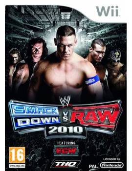 Juego Wii Smark Down VS RAW...