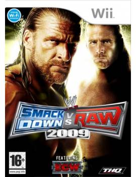 Juego Wii Smack Down VS Raw...