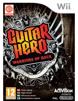 Juego Wii Guitar Hero...