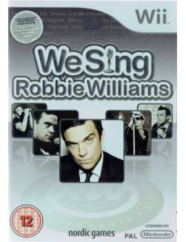 Juego Wii We Sing Robbie...