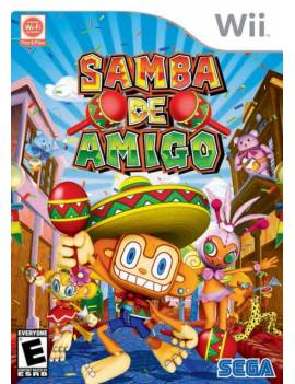 Juego Wii Samba de amigo