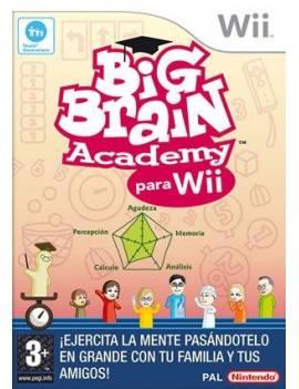 Juego Wii Big Brain Academy