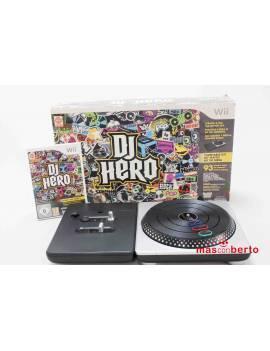 DJ HERO Wii + juego DJ...
