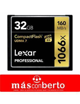 Tarjeta CompactFlash 32Gb...