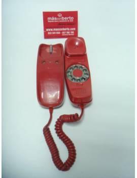 Teléfono Gondola Rojo