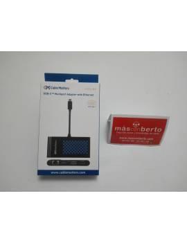 Adaptador multipuerto USB a...