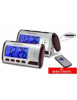 Reloj despertador espia