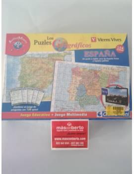 puzzle geografico de Epaña