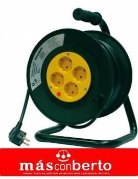 Enrollador de cable 50 MTS 3x