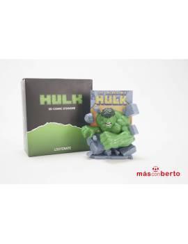 Figura colección Hulk 3d...