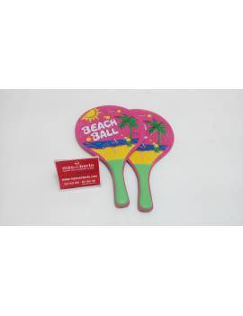 Raquetas de playa beach ball