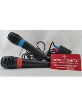 Micrófonos SingStar PS2