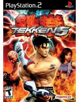 Juego PS2 Tekken 5