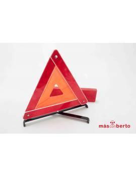 Triangulo para coche en caja