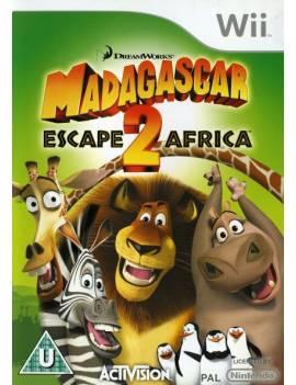 Juego WII Madagascar 2